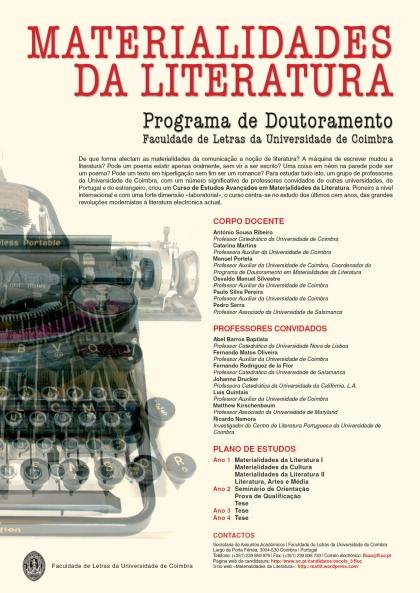 MaterialidadesdaLiteraturaCartaz2013-2014