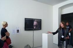 """""""Inside The Distance"""" de Sharon Daniel. Exposição: """"Interventions""""."""