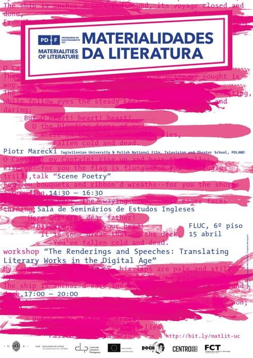 Cartaz de Tiago Santos.